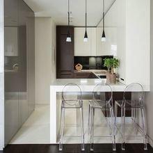 Фотография: Кухня и столовая в стиле Минимализм, Декор интерьера, Малогабаритная квартира, Квартира, Планировки, Декор – фото на InMyRoom.ru