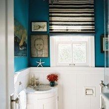 Фотография: Ванная в стиле Скандинавский, Декор интерьера, Хранение, Интерьер комнат, Советы – фото на InMyRoom.ru