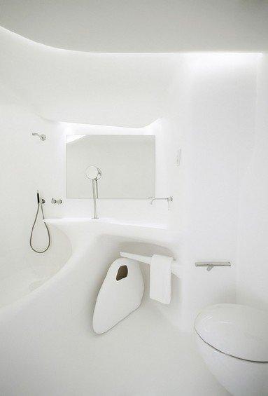 Фотография: Ванная в стиле Хай-тек, Дома и квартиры, Городские места – фото на INMYROOM