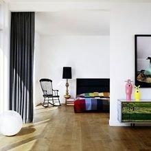 Фотография: Спальня в стиле Эклектика, Декор интерьера, Текстиль, Советы, Шторы, Балдахин – фото на InMyRoom.ru