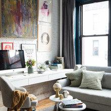 Фото из портфолио Апартаменты в Нью-Йорке – фотографии дизайна интерьеров на InMyRoom.ru