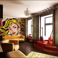 Фотография: Гостиная в стиле Современный, Эклектика, Квартира, Дома и квартиры, Поп-арт – фото на InMyRoom.ru