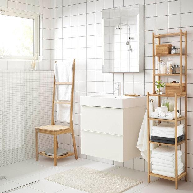 Фотография: Ванная в стиле Скандинавский, Гид, ИКЕА – фото на InMyRoom.ru