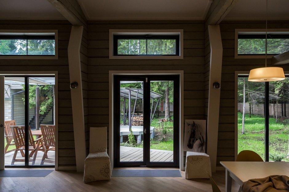 Фотография: Прихожая в стиле , Дом, Дома и квартиры, Проект недели, Дача, dom-iz-brusa – фото на InMyRoom.ru