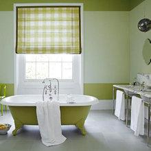 Фотография: Ванная в стиле Кантри, Декор интерьера, DIY, Цвет в интерьере – фото на InMyRoom.ru