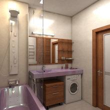Фото из портфолио Розовая ванна – фотографии дизайна интерьеров на INMYROOM