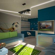 Фото из портфолио Детская для маленького футболиста – фотографии дизайна интерьеров на InMyRoom.ru