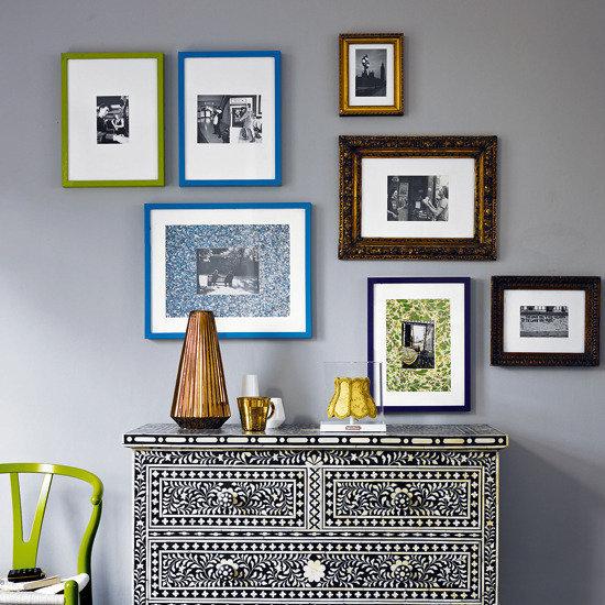 Фотография: Декор в стиле Эклектика, Декор интерьера, Дизайн интерьера, Цвет в интерьере, Серый – фото на InMyRoom.ru