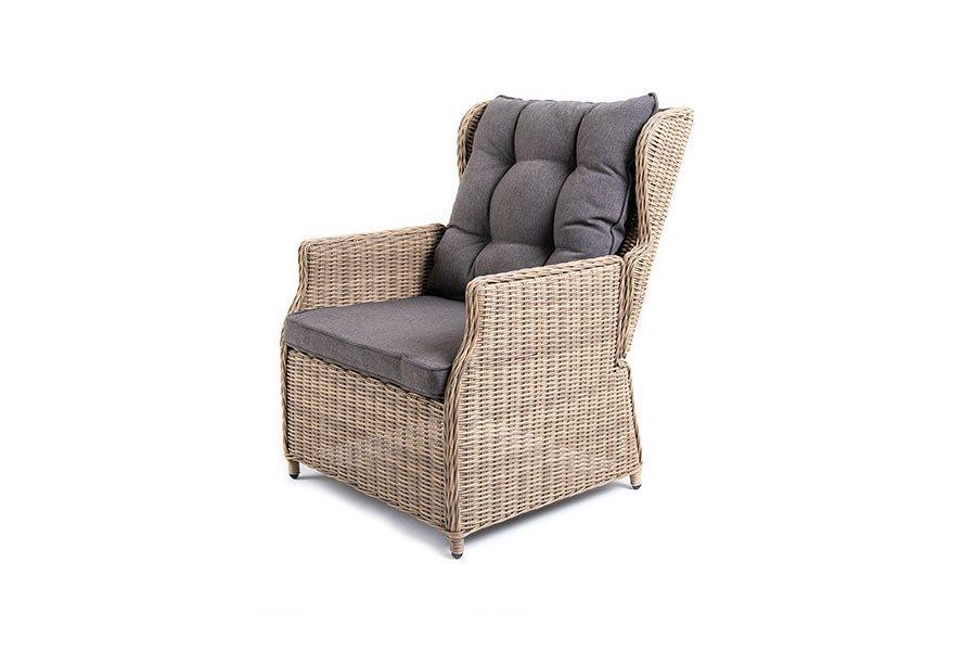 Раскладное кресло форио из искусственного ротанга
