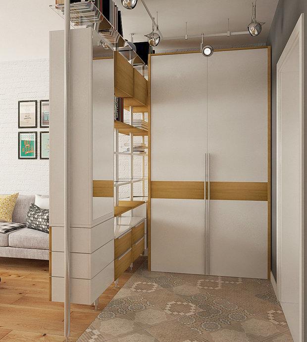 Дизайн: Co:Interior Напольное покрытие: керамический гранит Kerama Marazzi, серия «Королевская дорога»