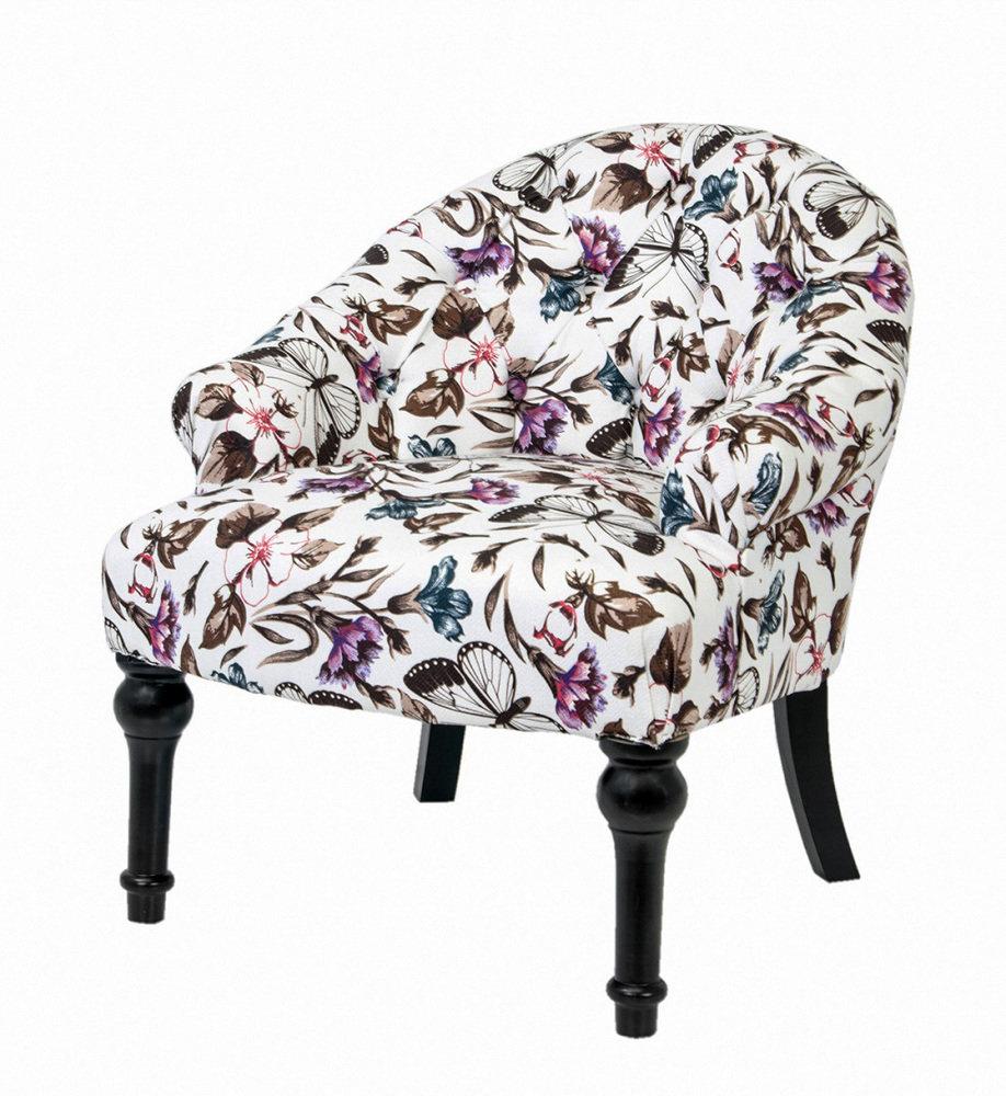 Купить Кресло Desta с деревянными резными ножками, inmyroom