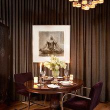 Фотография: Кухня и столовая в стиле Современный, Эклектика, Декор интерьера, Мебель и свет, Стол – фото на InMyRoom.ru