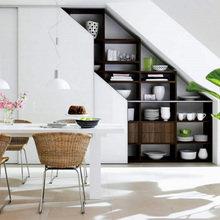 Фотография: Кухня и столовая в стиле Скандинавский, Декор интерьера, Хранение, Декор дома, Советы – фото на InMyRoom.ru