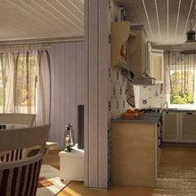 Фотография: Кухня и столовая в стиле Кантри, Современный, Дом, Дома и квартиры – фото на InMyRoom.ru