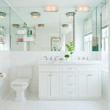 Фотография: Ванная в стиле Современный, Классический, Квартира, Дома и квартиры, Ар-деко – фото на InMyRoom.ru