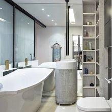 Фотография: Ванная в стиле Современный, Малогабаритная квартира, Квартира, Украина, Дома и квартиры, Киев – фото на InMyRoom.ru