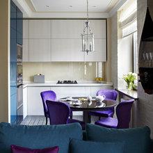 Фотография: Кухня и столовая в стиле Эклектика, Классический, Современный, Восточный, Квартира, Дома и квартиры – фото на InMyRoom.ru
