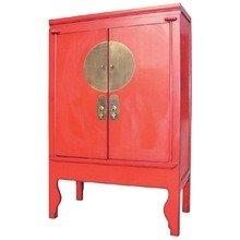 """Традиционный китайский шкаф красного цвета """"Гуй"""""""