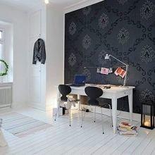 Фотография: Кабинет в стиле Скандинавский, Квартира, Дом, Планировки, Перепланировка – фото на InMyRoom.ru