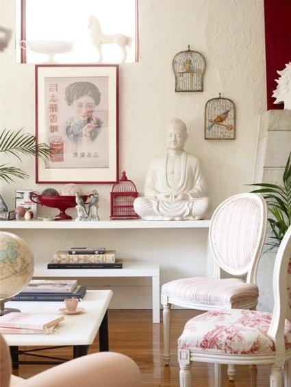 Фотография: Декор в стиле Восточный, Декор интерьера, Декор дома, Цвет в интерьере, Белый, Бассейн – фото на INMYROOM