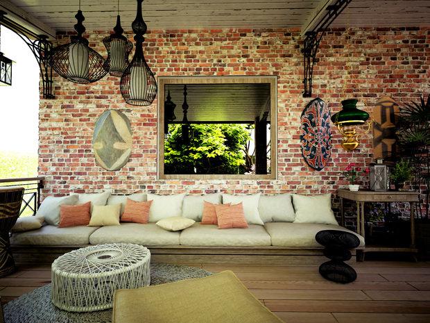 Фотография: Балкон, Терраса в стиле Лофт, Квартира, Дом, Дома и квартиры, Проект недели – фото на INMYROOM