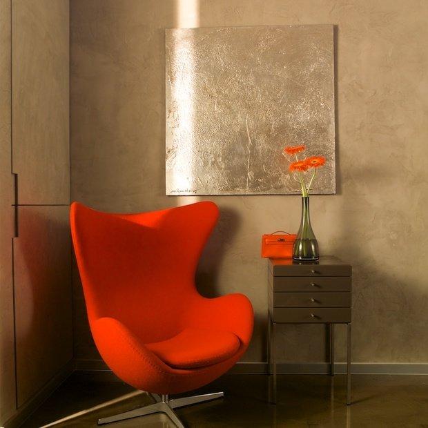 Фотография: Мебель и свет в стиле Современный, Декор интерьера, Декор дома, Декоративная штукатурка – фото на InMyRoom.ru