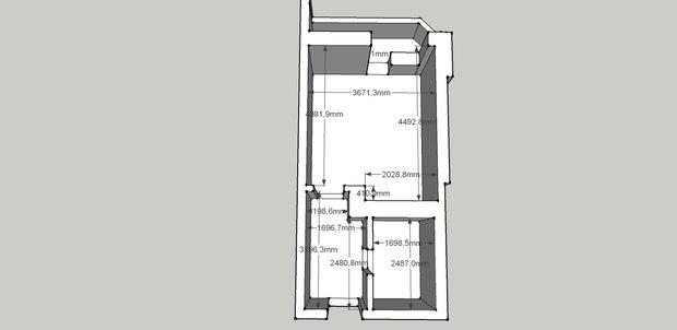 сколько будет стоить дизайн квартиры-студии 26.86 кв м