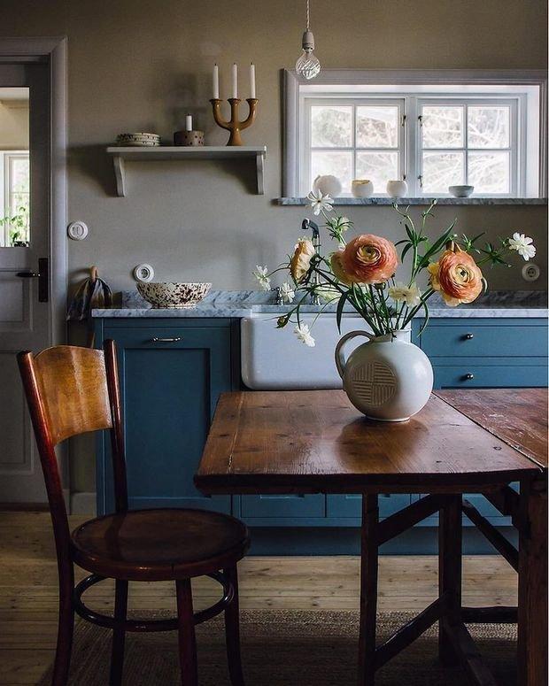 Фотография: Кухня и столовая в стиле Прованс и Кантри, Декор интерьера, Дом, Швеция, Гетеборг, Уильям Моррис – фото на InMyRoom.ru