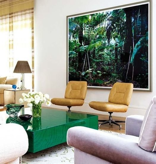 Фотография: Гостиная в стиле Современный, Декор интерьера, Декор дома, Плетеная мебель – фото на InMyRoom.ru