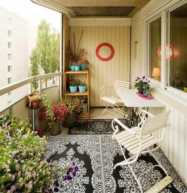 Фотография: Балкон, Терраса в стиле Прованс и Кантри, Интерьер комнат, Дом и дача – фото на InMyRoom.ru