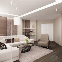 Фото из портфолио Квартира на 23-м этаже – фотографии дизайна интерьеров на INMYROOM