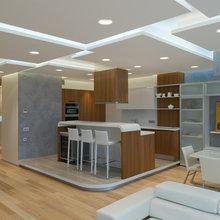 Фото из портфолио Квартира 135 кв.м. в ЖК Mirax Park   – фотографии дизайна интерьеров на InMyRoom.ru