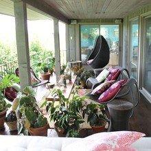 Фотография: Балкон, Терраса в стиле Кантри, Современный, Эклектика – фото на InMyRoom.ru
