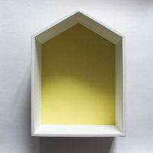 """Полка-домик """"Porto"""" желтый"""