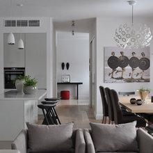 Фотография: Кухня и столовая в стиле Современный, Декор интерьера, Квартира, Цвет в интерьере, Дома и квартиры, Бежевый – фото на InMyRoom.ru