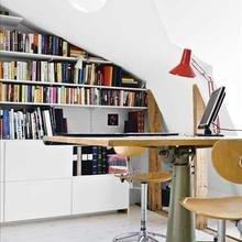 Фотография: Кабинет в стиле Лофт, Современный, Интерьер комнат, Системы хранения – фото на InMyRoom.ru