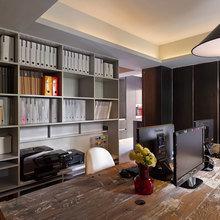 Фотография: Офис в стиле Кантри, Современный, Офисное пространство, Дома и квартиры, Проект недели – фото на InMyRoom.ru
