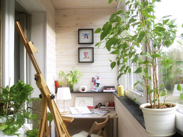 Фотография: Балкон в стиле Современный, Гид, как оформить балкон – фото на INMYROOM