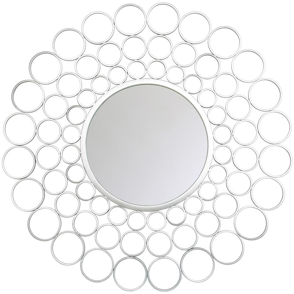 Купить Настенное зеркало георгина в металлической раме, inmyroom, Россия