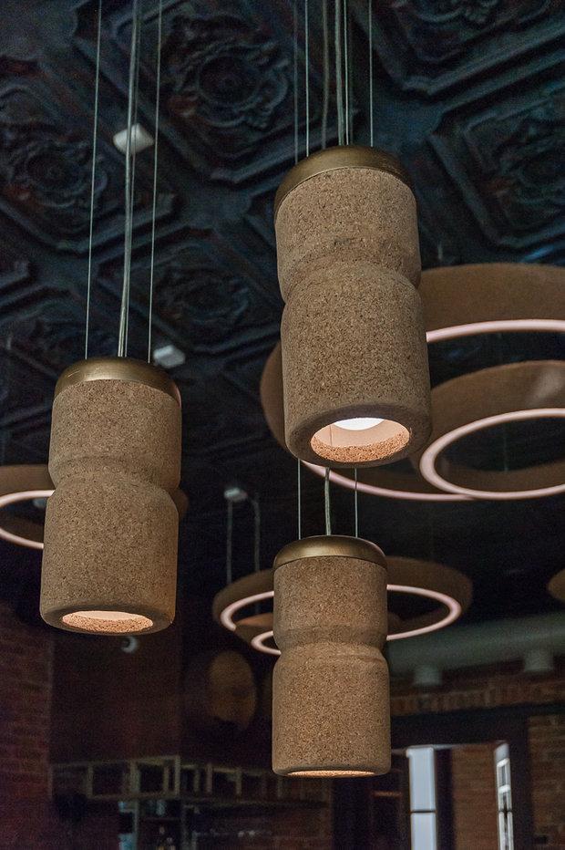 Фото из портфолио Дизайн интерьера ресторана «MEAT & WINE» – фотографии дизайна интерьеров на INMYROOM