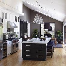 Фотография: Кухня и столовая в стиле Современный, Дом, Терраса, Дома и квартиры, Бассейн, Калифорния – фото на InMyRoom.ru