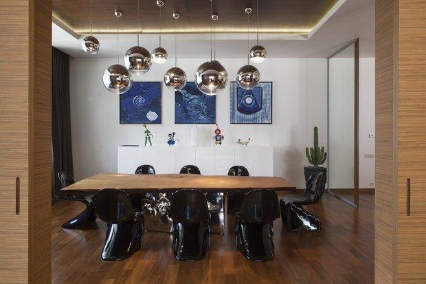 Фотография: Кухня и столовая в стиле Хай-тек, Дом, Советы, Дача, Таунхаус – фото на INMYROOM