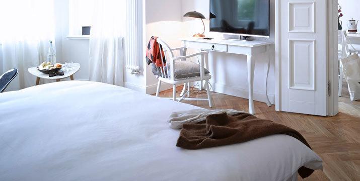 Фотография: Спальня в стиле Скандинавский, Квартира, Германия, Дома и квартиры – фото на InMyRoom.ru