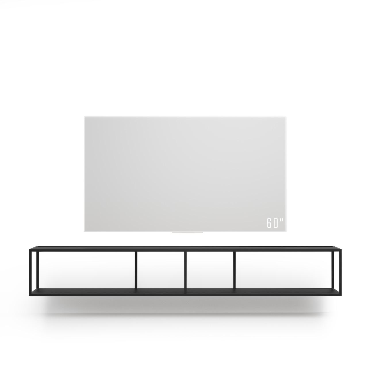 Тумба tv Stand Lite Black черного цвета