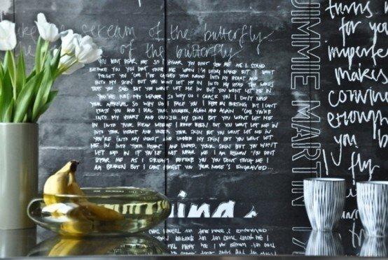 Фотография: Прихожая в стиле Современный, Квартира, Цвет в интерьере, Дома и квартиры, IKEA, Лондон, Черный, Поп-арт – фото на InMyRoom.ru