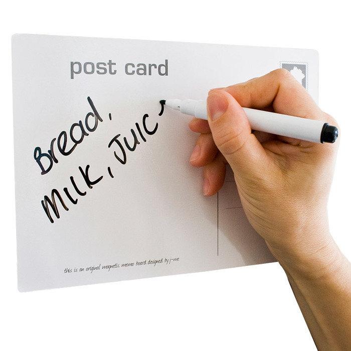 Магнитная открытка-органайзер memo