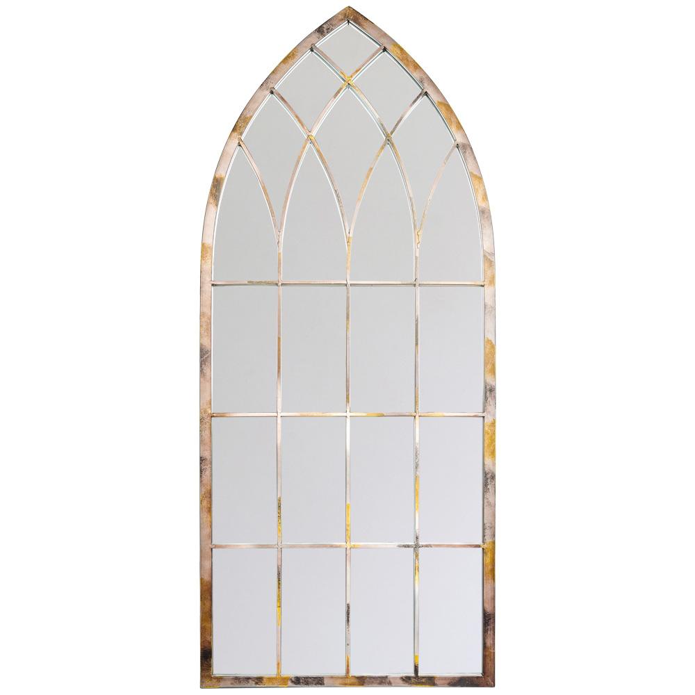 Купить Настенное зеркало гревен в металлической раме, inmyroom, Россия