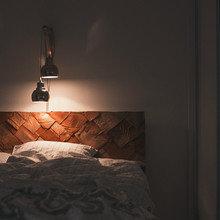 Фото из портфолио Теплая и уютная квартира-студия площадью в 34 кв.м – фотографии дизайна интерьеров на INMYROOM