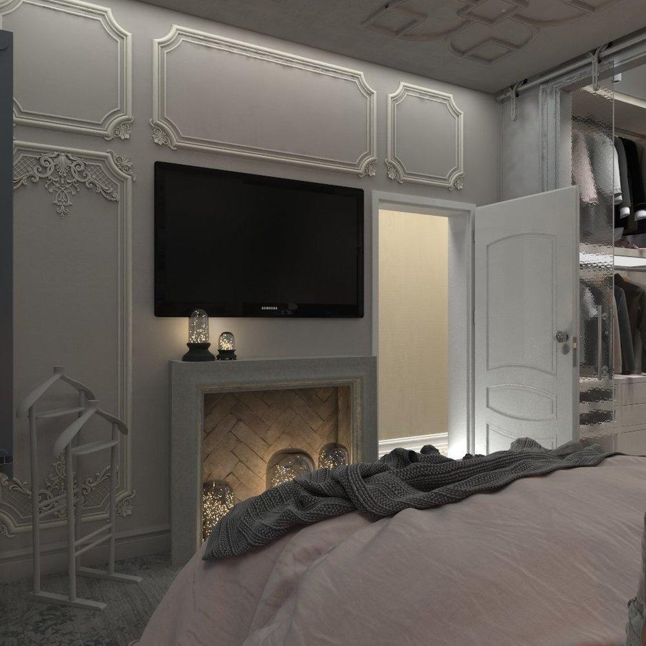 Фотография: Спальня в стиле Классический, Квартира, Проект недели, Подмосковье, 4 и больше, 60-90 метров, Юлия Штыкина – фото на InMyRoom.ru