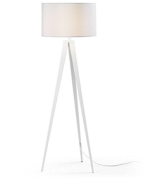 Купить Торшер Julia Grup Uzagi с белым абажуром, inmyroom, Испания
